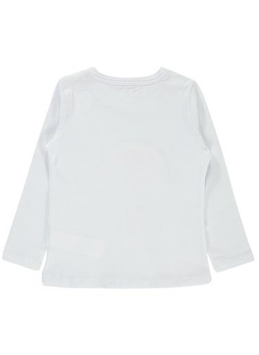 Cvl Kız Çocuk Sweatshirt Beyaz